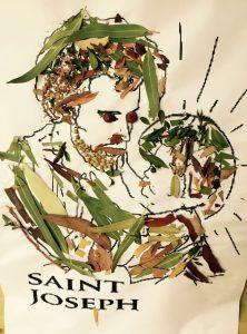 St Joseph - leaf drawing