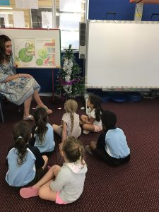Kindy Orientation day mat session